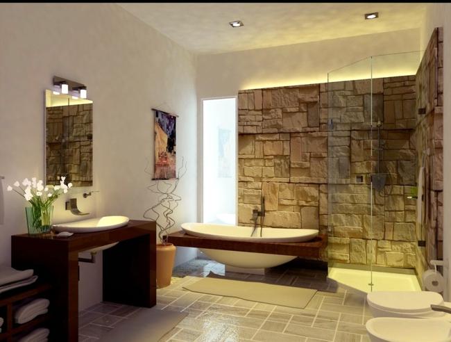 Wooden bathroom furniture   ideas fabulous nowadays