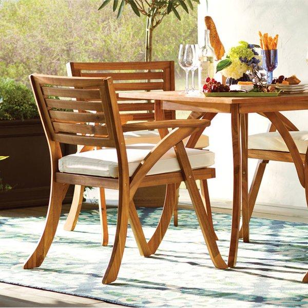 Wood Patio Furniture You'll Love   Wayfair