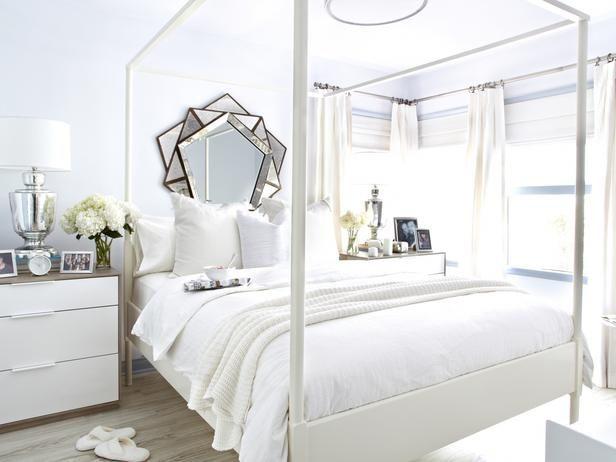 White-on-White Guest Bedroom Makeover
