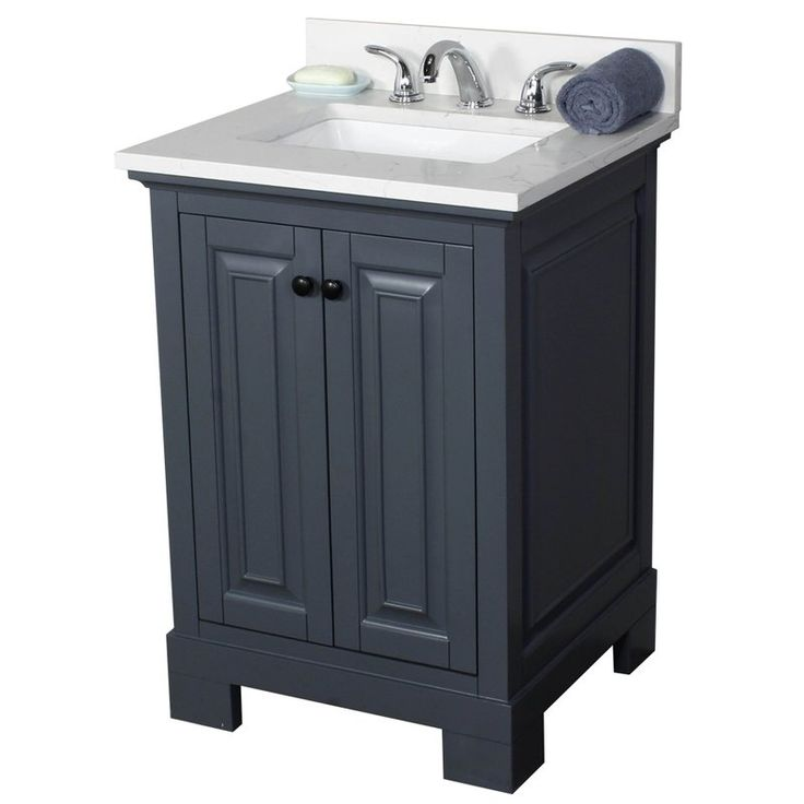 "Stetson 24"" Single Bathroom Vanity Set"