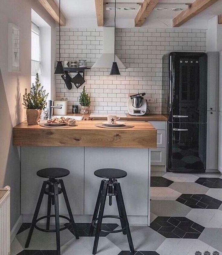 90 Beautiful Small Kitchen Design Ideas