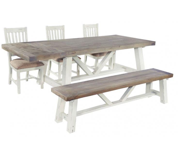 Langton End Extending 160cm Dining Table