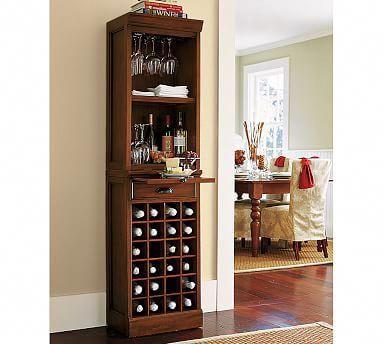 Modular Bar with Wine Grid Tower