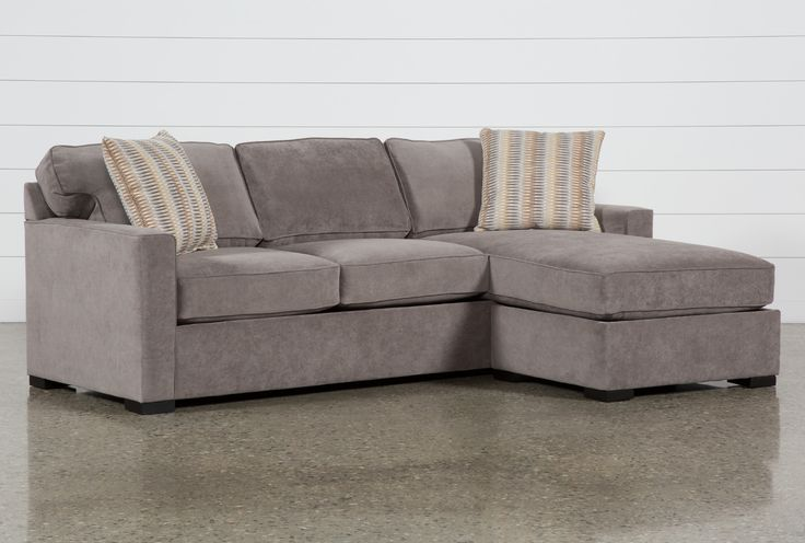 Taren II Reversible Sofa/Chaise Sleeper W/Storage Ottoman