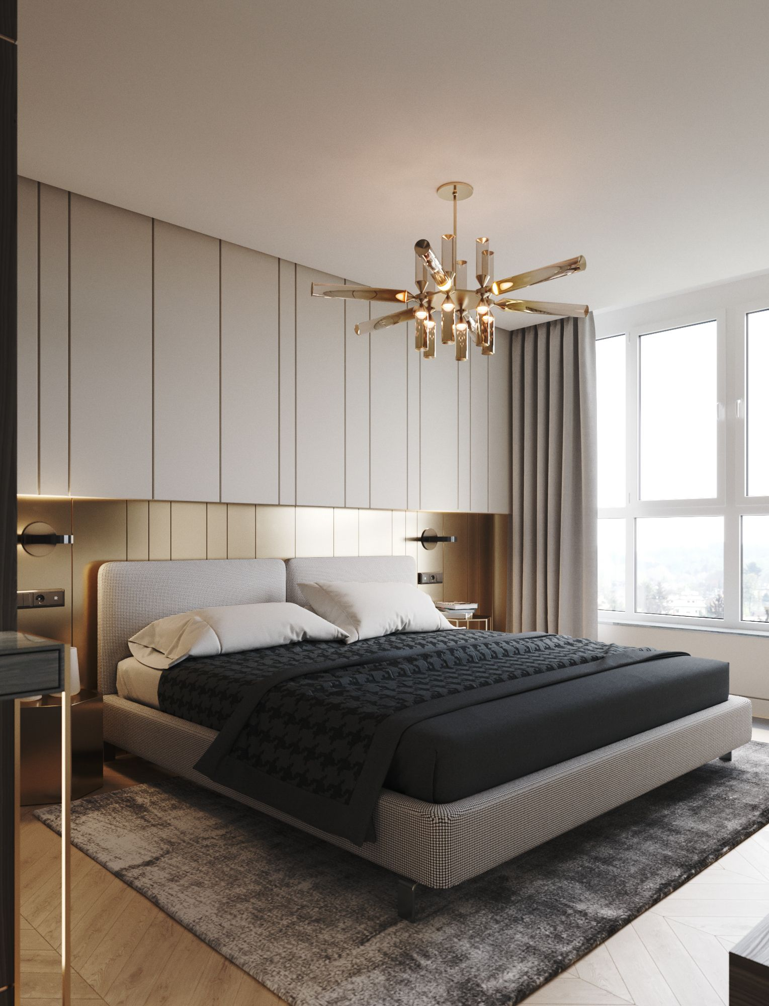 Bedroom Design in a Classic Style: Main Colors