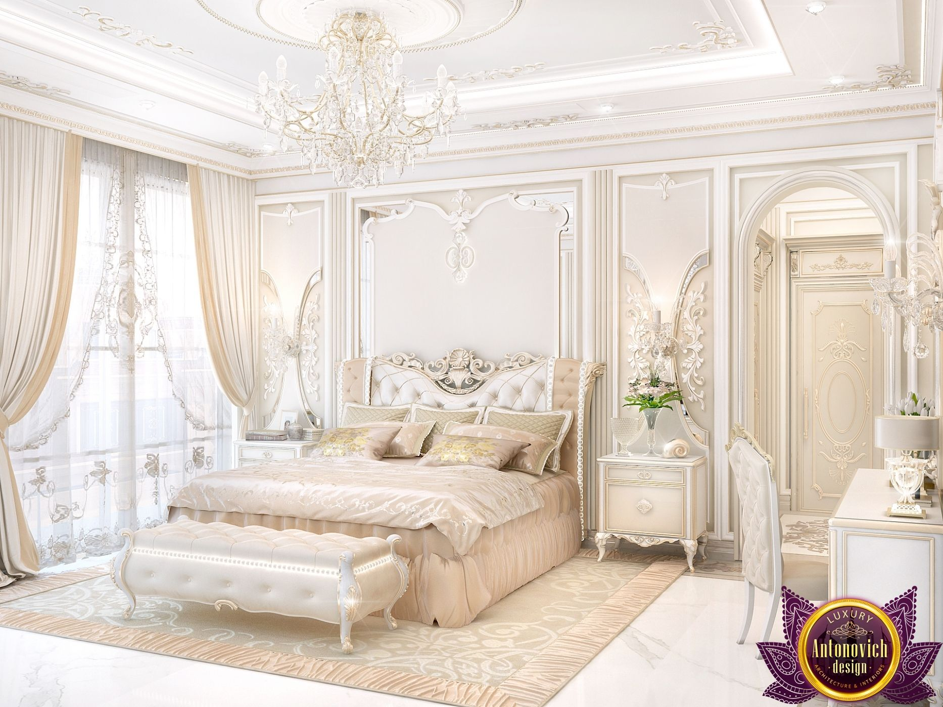 Bedroom Design in a Classic Style