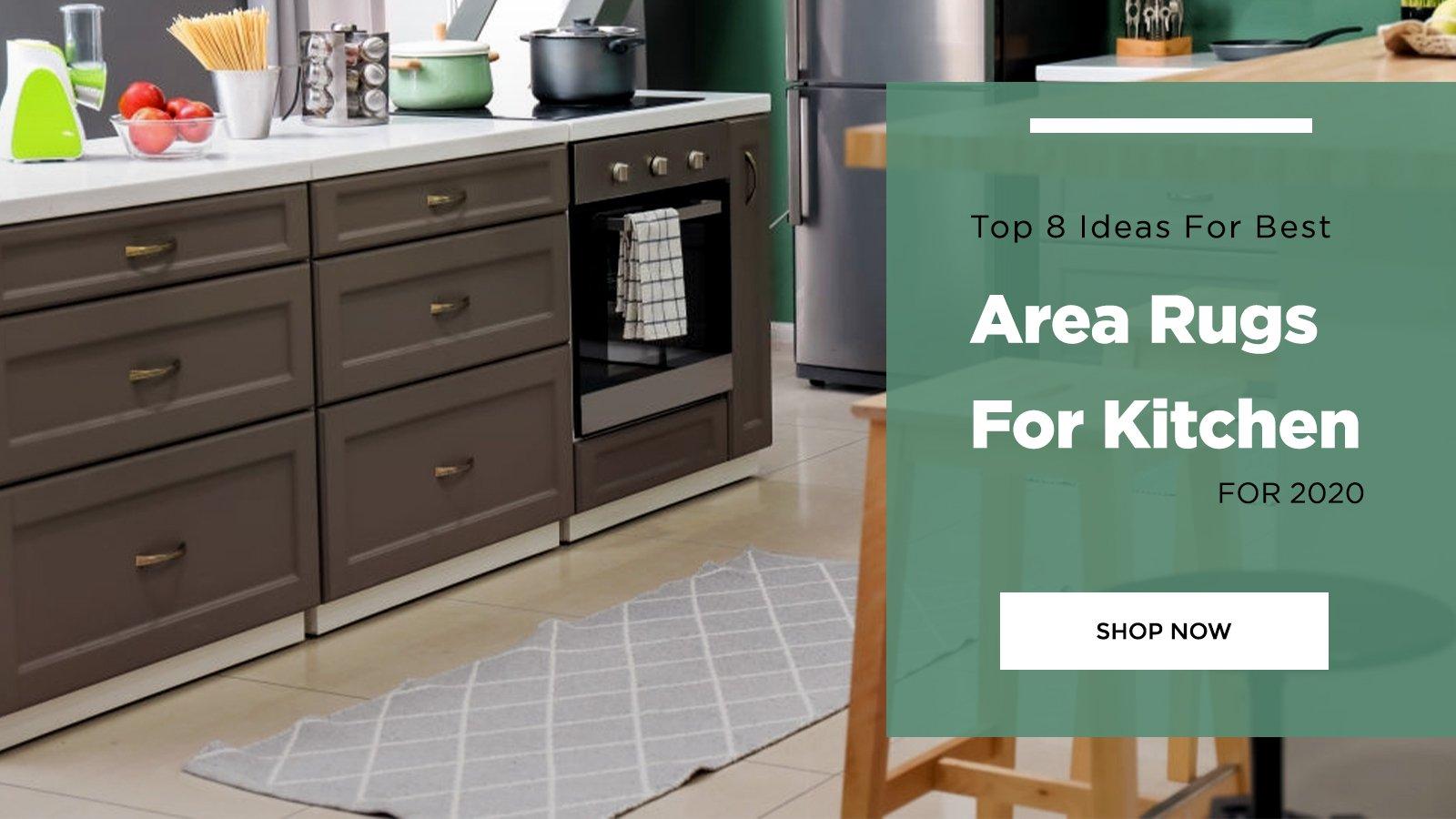 Benefits of modern kitchen rugs