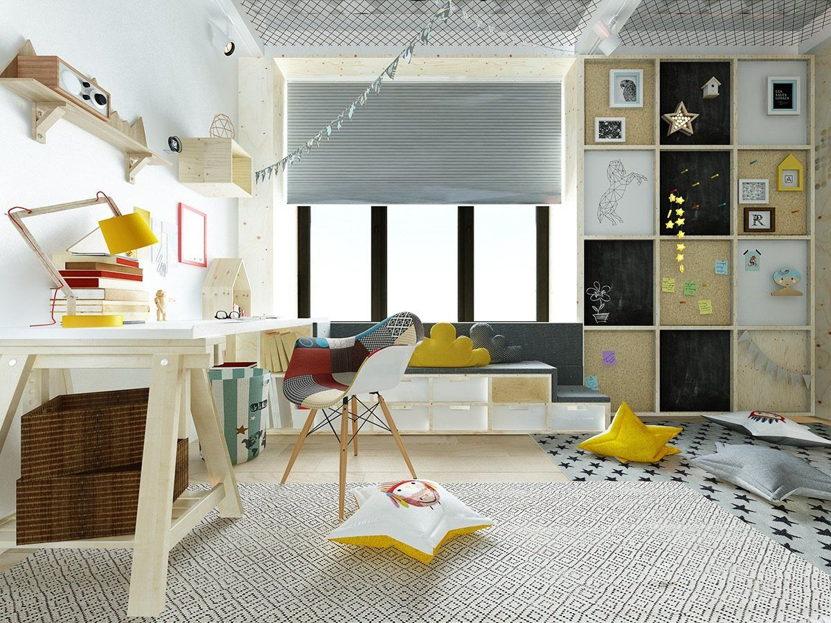 Cheerful and Playful Kids Bedroom Furniture