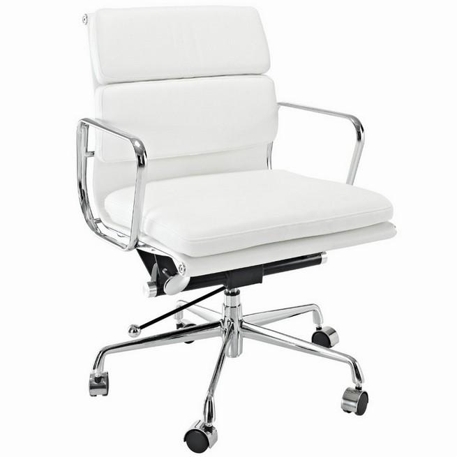 Choosing elegant white computer chair