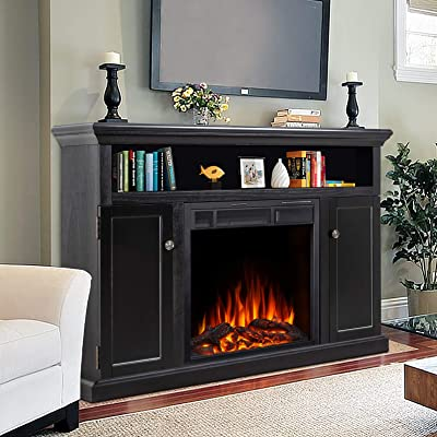 Electric Fireplace TV Stand & Media Cabinets