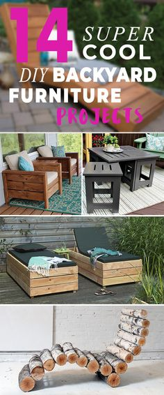 Endless variety of patio benches designs