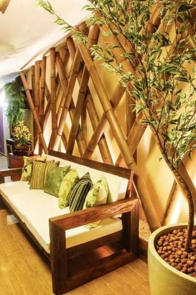Home Decoration with Bamboo Ideas