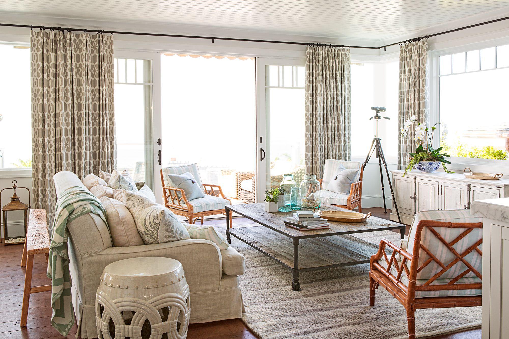 Interior Curtain Ideas for Living Room
