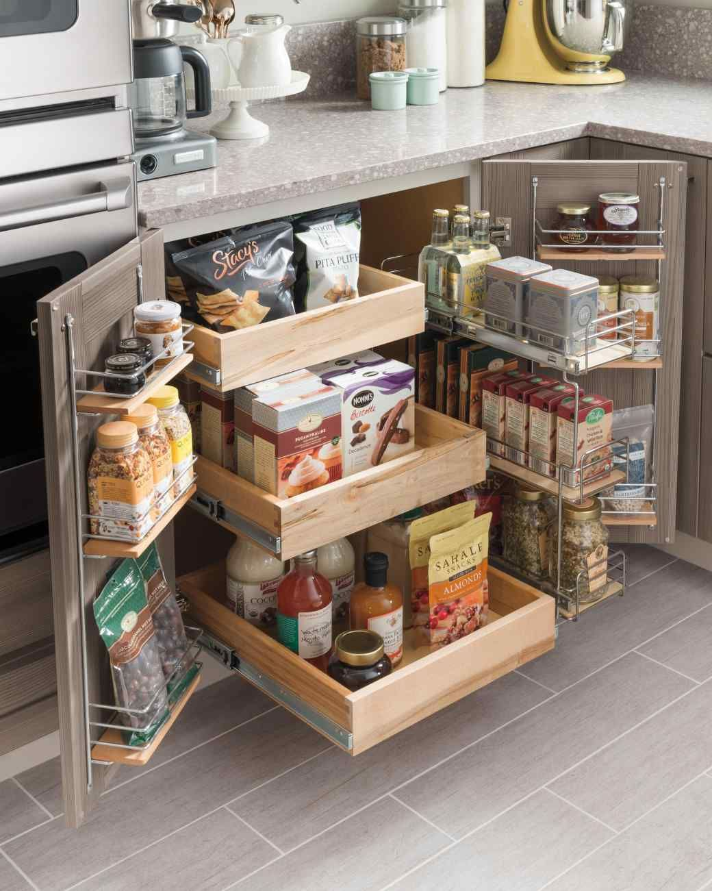Kitchen storage ideas which will help you to organize the space