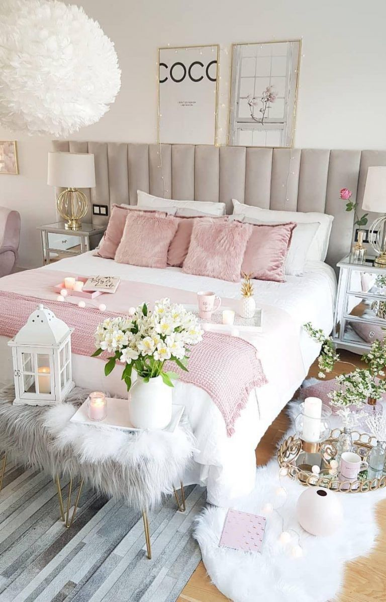 Modern and nice girls bedroom