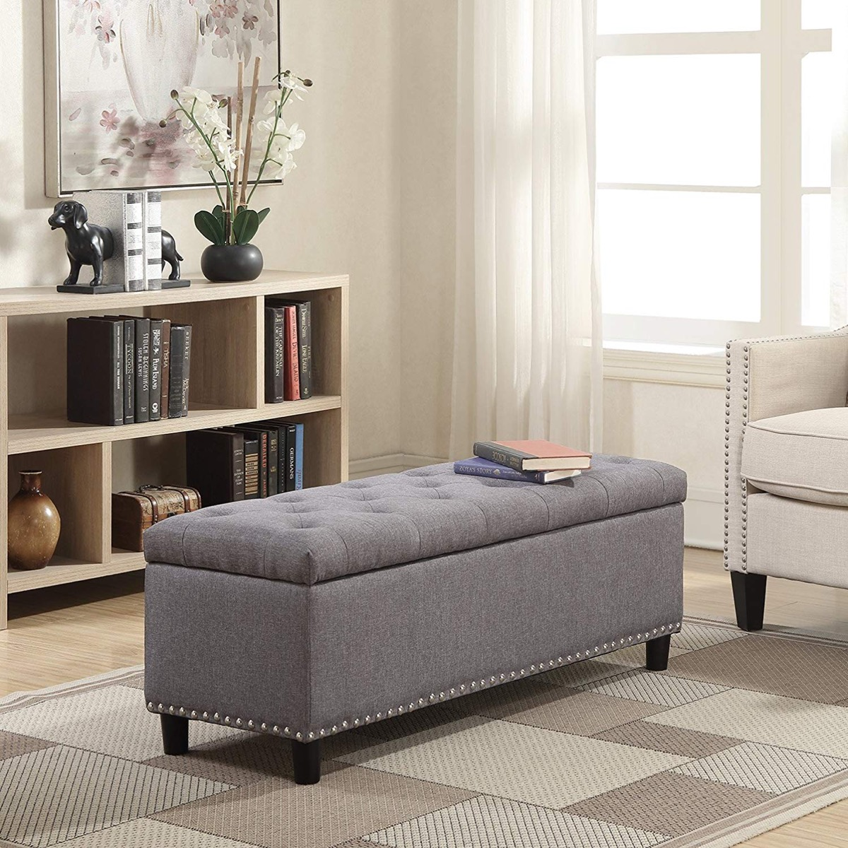 Multifunctional storage benches for all rooms