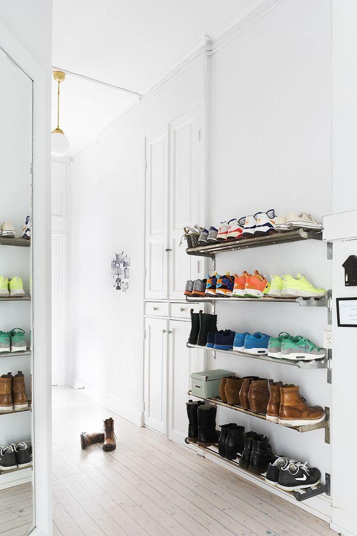 Picking an entryway shoe storage