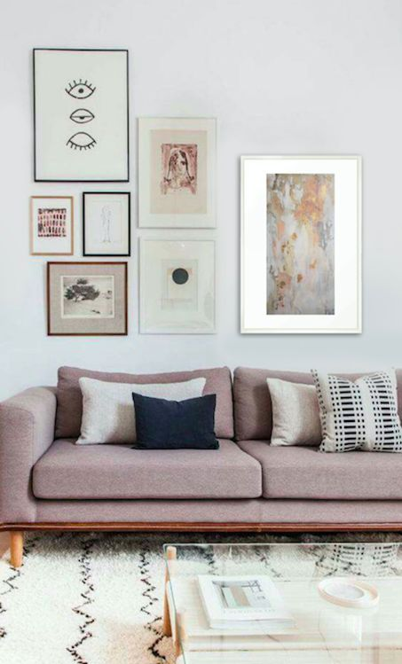 Picking the perfect living room wall decor