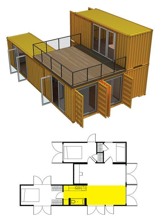 Plan To Make A Home With Container Home Designs