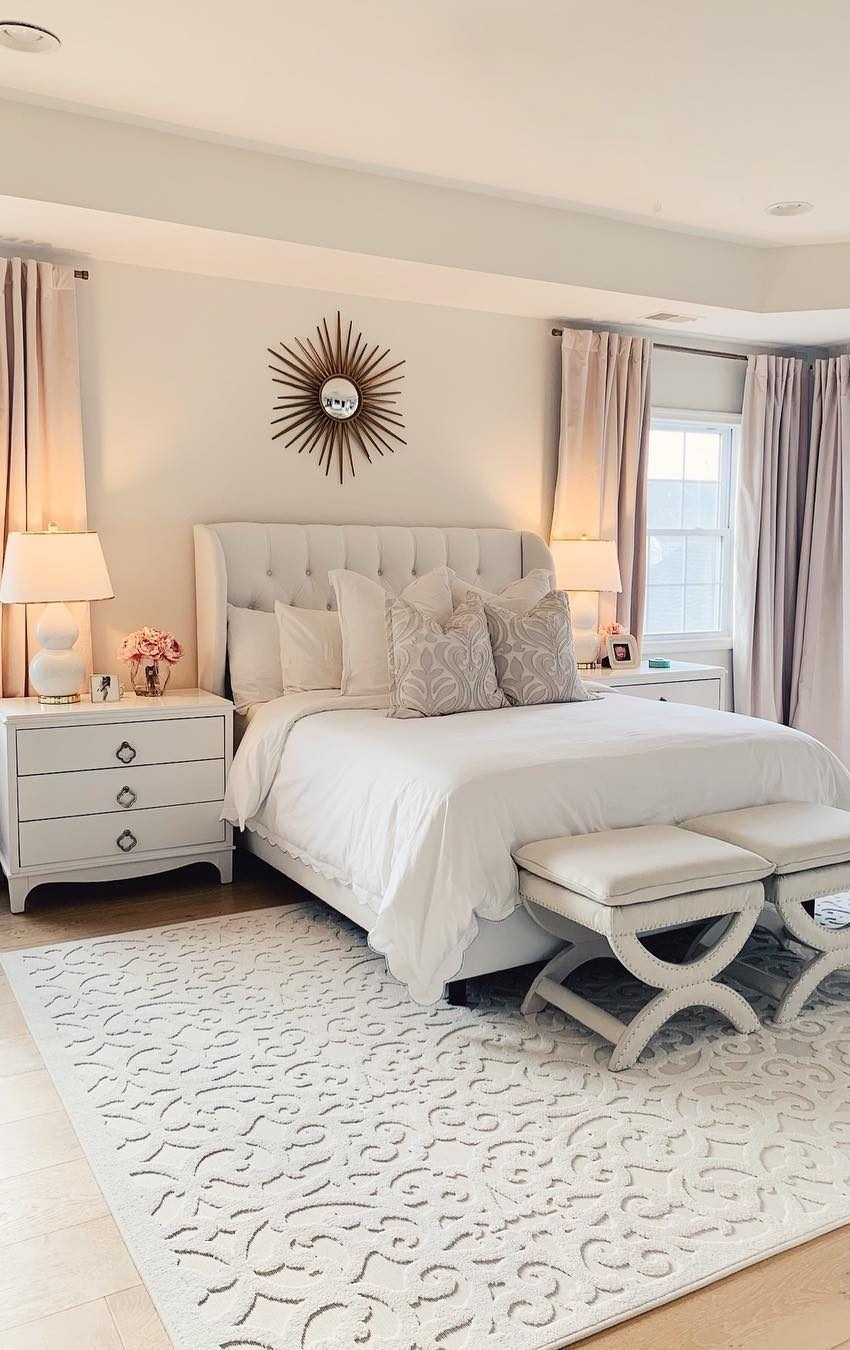 Some bedroom ideas -furnishing and decorating