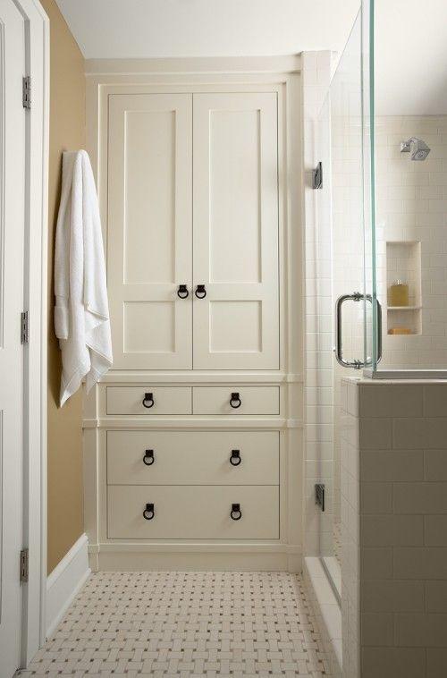 Some practical bathroom storage cabinets ideas