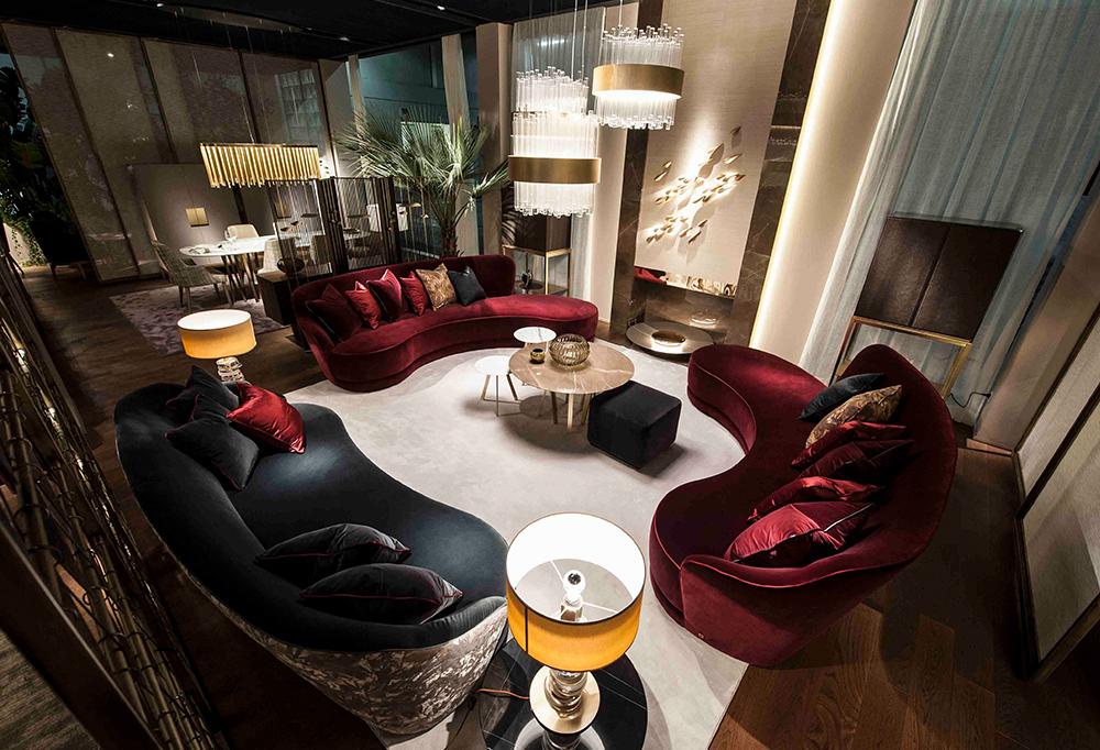 The main characteristics of modern living room sets