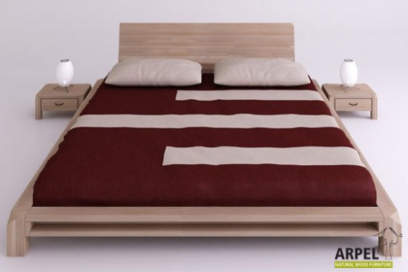 The Strong and Tasteful Wood Bed Frame for your Bedroom