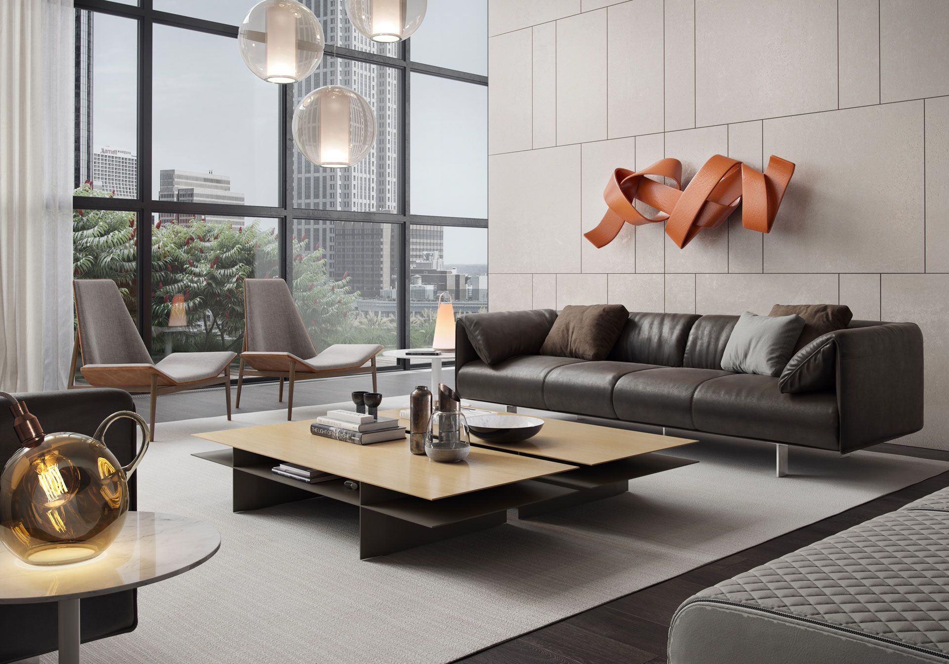 The variety of contemporary living room furniture sets
