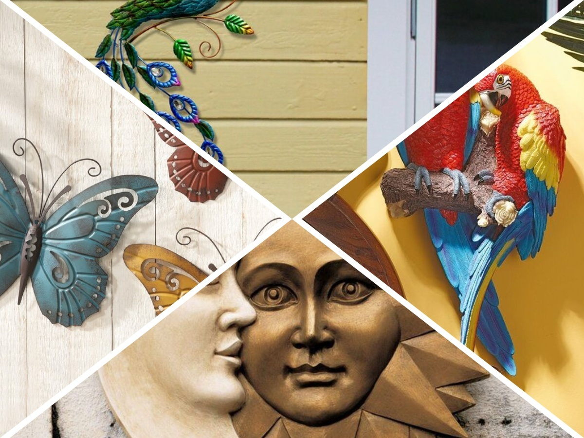 Using the right outdoor wall art