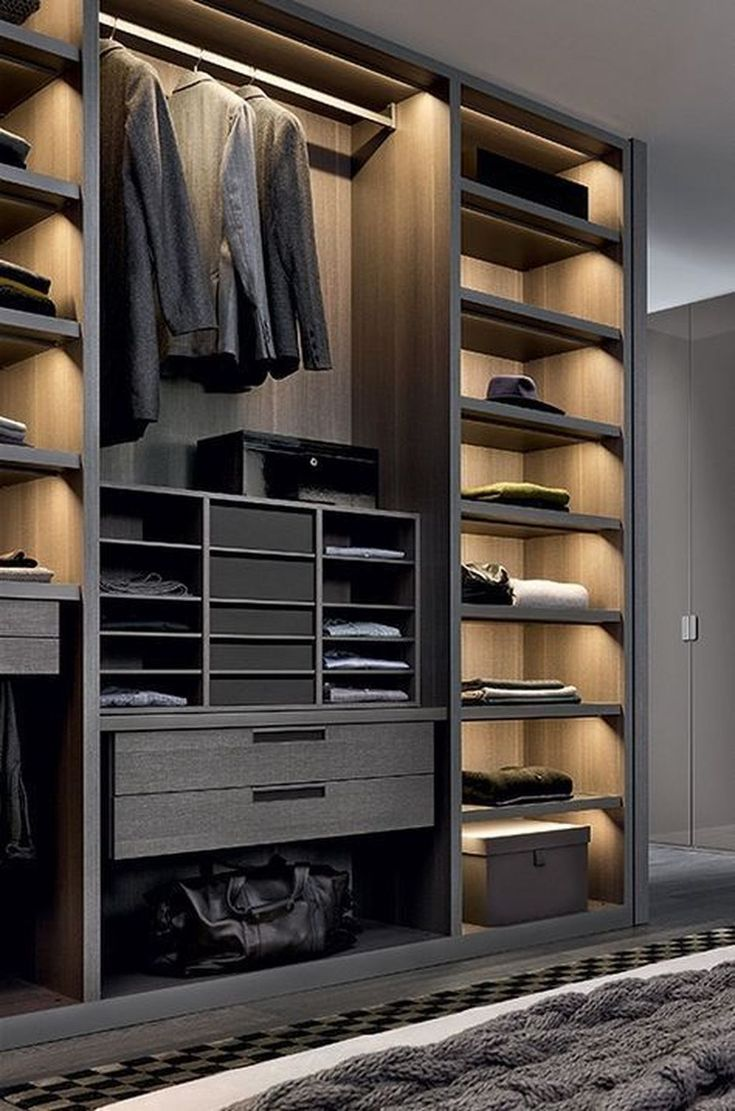 49 Creative Closet Designs Ideas For Your Home
